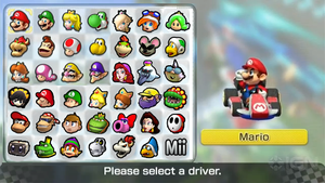 Mario Kart 8 Roster (My wish) by PichuThePokemon