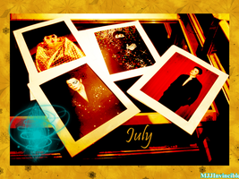 July graphic for MJJIF by MsBriedevmjj