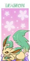 Bookmark:Leafeon by Extra-Fenix