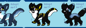Canines - Make an offer -OPEN- by adoptsmadefuryou
