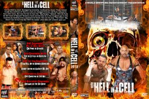 WWE Hell in a Cell 2012 DVD Cover by Chirantha