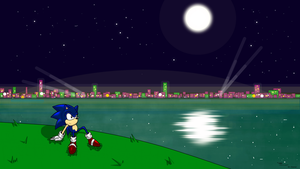 Sonic the hedgehog Stardust Speedway-good future b by drakughost