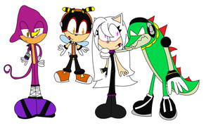A New Member to the Chaotix by Sonicgenerations202
