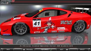 Vividred Operation 430 Scuderia GT3 Itasha_01 by FAT8893