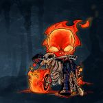 Ghost Rider by KidNotorious by nightgrowler