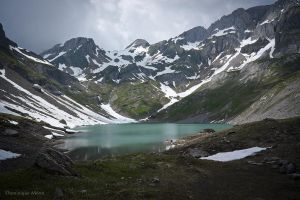 Lake of Vogealle by dominique-merot