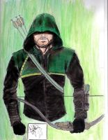 Green Arrow Color by CJRogue