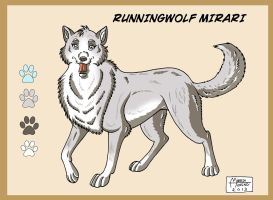 RUNNINGWOLF MIRARI by RUNNINGWOLF-MIRARI