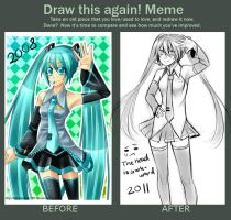 Draw this again meme by SakuraChan776