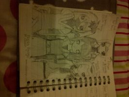 My Naruto Oc Kasumi and her Team by abbey1010