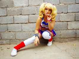 Juliet Starling Cosplay - Lolipop Chainsaw  3 by MelodyxNya