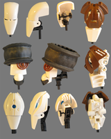 Lego: Male Head Concepts by retinence