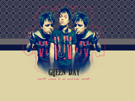 Green Day Wallpaper by forgottenemotions