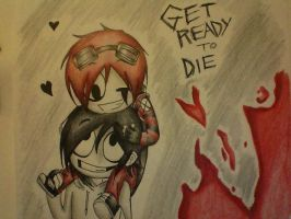 Get Ready To Die by JamesChaoticDrowned