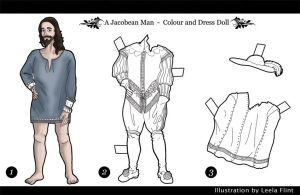 A Jacobean Man - Doll by alicelights