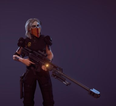 Vera - The Sniper by Dompi2005