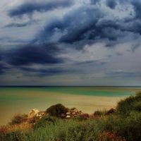 painted sea by VaggelisFragiadakis