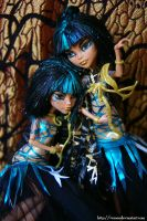 Cleo de nile twins by VeroEs