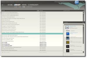 Steam Skin New UI - 06.05.2010 by Streetster20