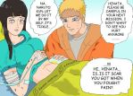 naruhina month day 23 and 24 : scars and tickle by GadingAyu