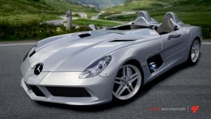 Forza 4 - Mercedes SLR Stirling Moss by RyoFox630