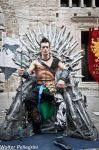 Throne - Jann Lee - Dead or Alive 5 by Leon Chiro by LeonChiroCosplayArt