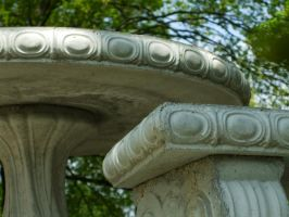 Stone Bench and Table 2 by greenlee4