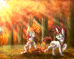Fall Weather Derps by AlinQuilz