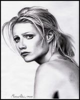 Gwyneth Paltrow by MikeRobinsArt