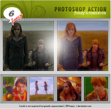 Photoshop action 06 by freezy-resources