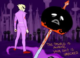 the prince is awake by Viral-Z