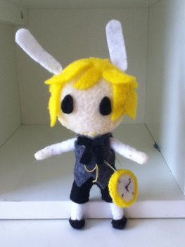 Alice in Musicland Plushie: Len by ha-nata