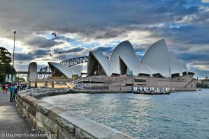 Sydney Opera House by tawunap159