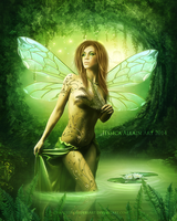 Emerald-Fae by EnchantedWhispersArt