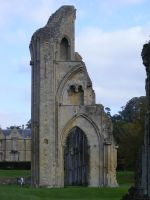 Glastonbury Abbey 36 by LadyxBoleyn