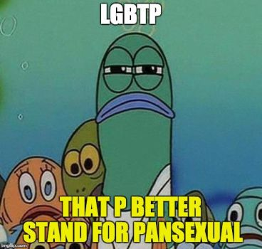 if LGBT gets a P by koimonster22