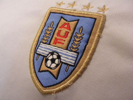 URUGUAY SOCCER EMBROIDERED by ivanymathias