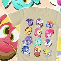 Derpy Felt Ponies Shirt- We Love Fine Contest by PixelKitties