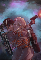 Holtzbert Week Day #5 | Who You Gonna Call? by Aiyana-Kopa