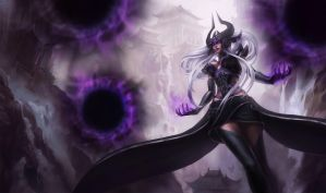 Syndra the Dark Sovereign by katiedesousa