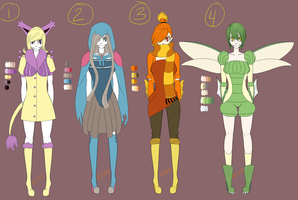 Gijinka Adoptables - 1 OPEN - by Rd406