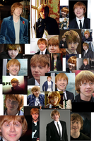 Rupert Grint Collage by super-maya