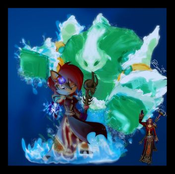 WoW - Ice Mage Sally by SkyPirateDash