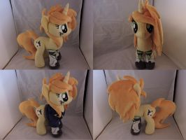 MLP OC Last Protagonist Plush (commission) by Little-Broy-Peep