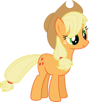 Applejack Vector by FlawlessTea