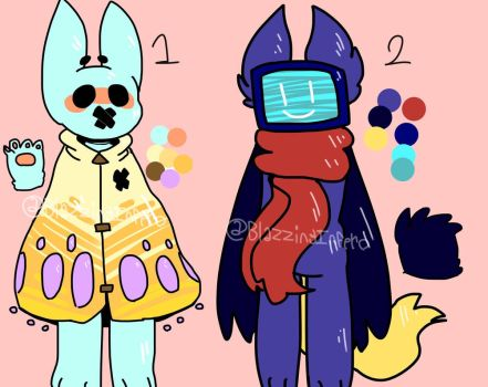 Some more adopts- (CLOSED) by BlazzingInferno