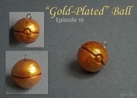 Gold-Plated Ball Charm by GandaKris
