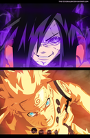 Naruto 628 - Naruto an Madara by the103orjagrat