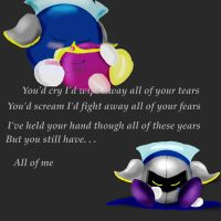 Meta Knight's Immortal by WhiteKitsuneKnight