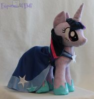 Gala Twilight Sparkle Plushie by Yukizeal